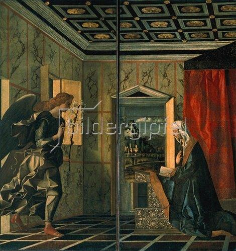 Giovanni Bellini: Die Verkündigung Mariae.