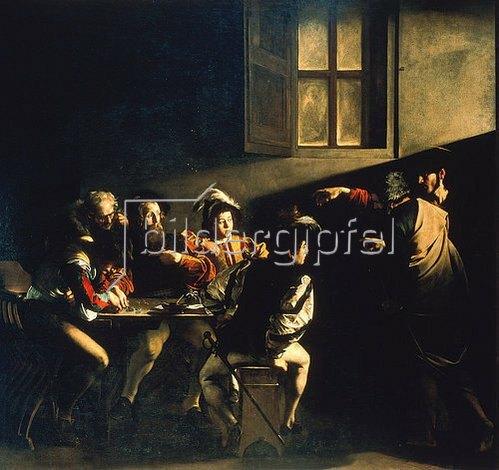 Michelangelo Merisi da Caravaggio: Die Berufung des Hl. Matthäus. 1599/1600