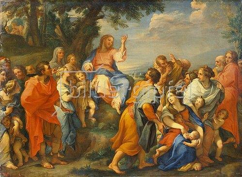 Giuseppe Chiari: Die Predigt Christi.