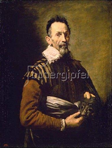 Domenico Fetti: Bildnis eines alten Schauspielers. 1623.