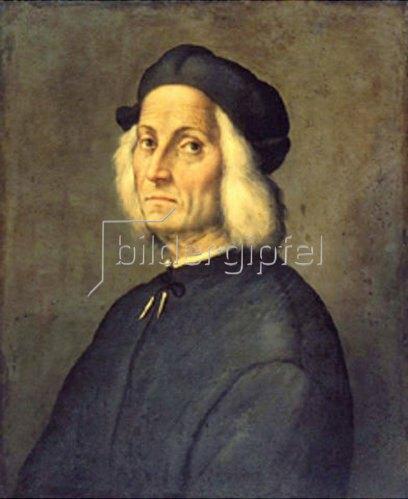 Ridolfo Ghirlandaio: Bildnis eines weisshaarigen Mannes.