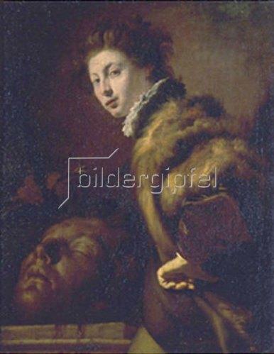 Domenico Fetti: David mit dem Haupt des Goliath.