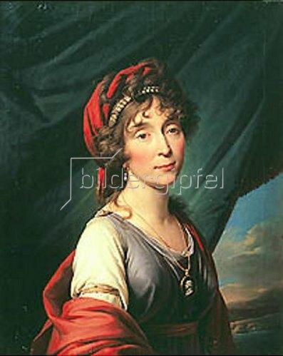 Giovanni B Damon-Ortolani: Bildnis der Prinzessin Y.C. Dolgorukova, 1758-1842. Entstanden 1804.