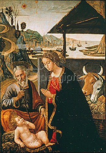 Sebastiano Mainardi: Die Geburt Christi.
