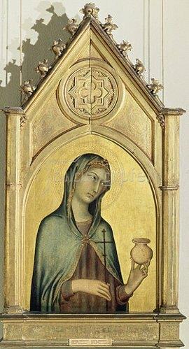 Simone Martini: Maria Magdalena. Um 1320.
