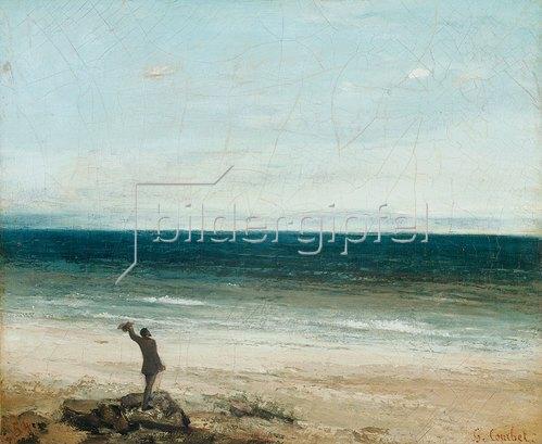 Gustave Courbet: Die Küste bei Palavas. 1854