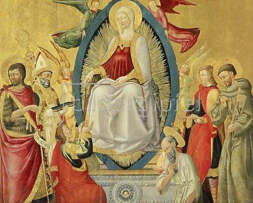 Neri di Bicci: Die Himmelfahrt Mariae. 1464/65