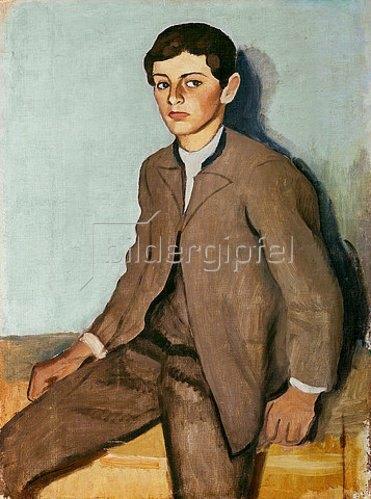 August Macke: Tegernseer Bauernjunge (groß). 1910