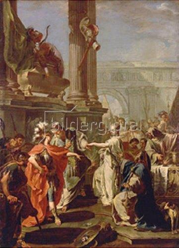 Giovanni Battista Pittoni: Die Opferung der Polyxena. 1730-er Jahre.