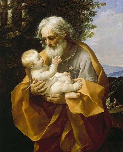 Guido Reni: Der Hl. Joseph mit dem Jesusknaben. 1620-30