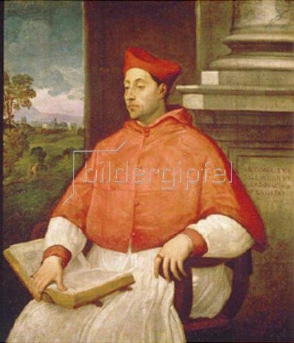 Sebastiano del Piombo: Bildnis des Kardinals Antonio Pallavicini.