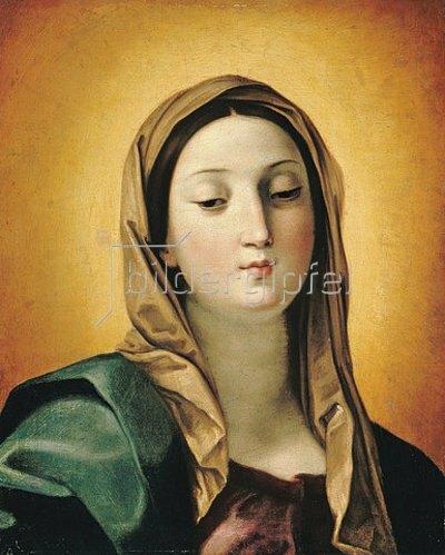 Guido Reni: Antlitz der Maria.
