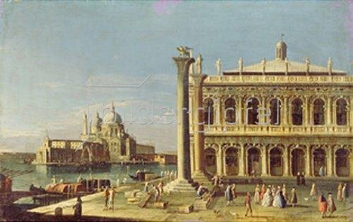 Francesco Tironi: Blick vom Markus-Platz in Venedig.