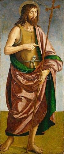 Antoniazzo Romano: Hl. Johannes der Täufer.