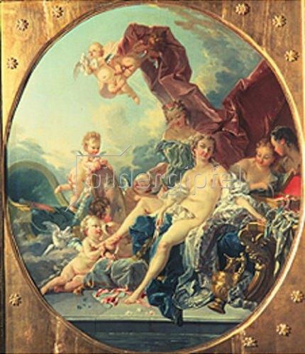 François Boucher: Die Toilette der Venus.