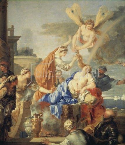 Sebastien Bourdon: Der Tod der Dido.