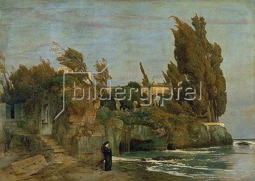 Arnold Böcklin: Villa am Meer. 2. Fassung. 1865