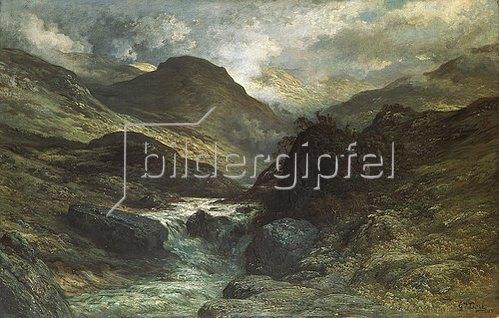 Gustave Doré: Ein Canyon. 1878.