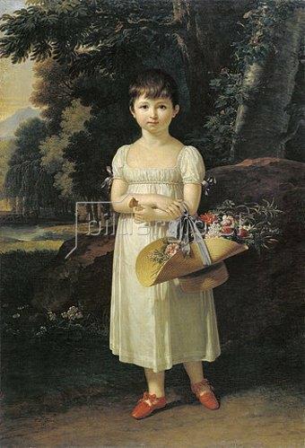 Francois Xavier Fabre: Bildnis der jungen Amelia Oginski. 1808.
