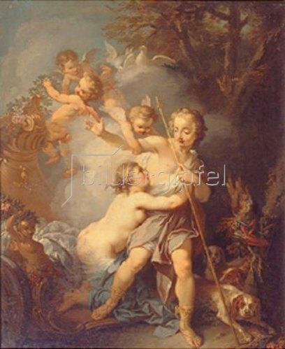 Etienne Jeaurat: Venus und Adonis. 1750-er Jahre.