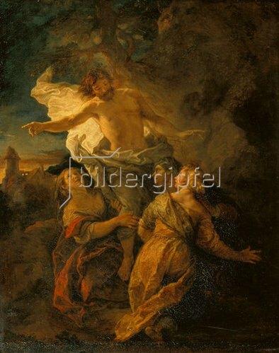 Charles de La Fosse: Christus und die Heiligen Frauen. 1680-er Jahre.