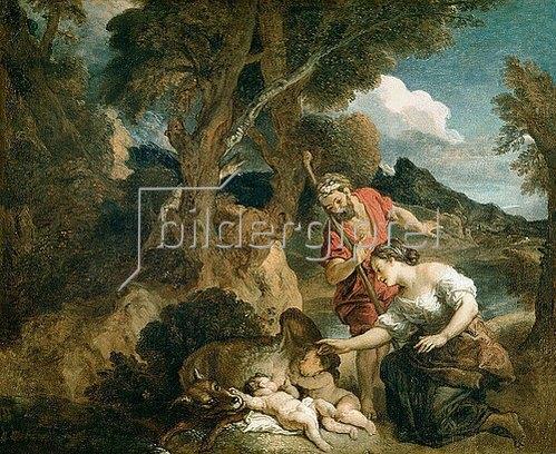 Charles de La Fosse: Romulus und Remus. 1700.
