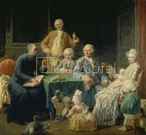 Nicolas Lépicié: Die Familie Leroy. 1766.