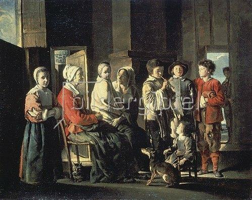 Louis Le Nain: Besuch bei der Grossmutter. 1645.