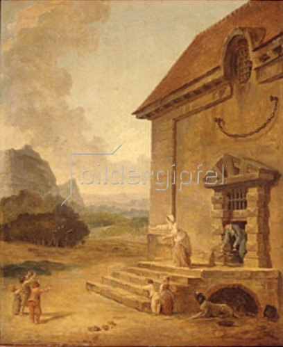Hubert Robert: Frühlingsfest. 1794.