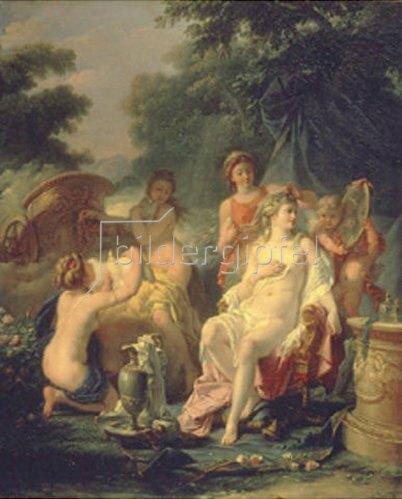 Jean Hugues Taraval: Die Toilette der Venus.