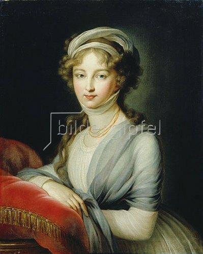 Elisabeth-Louise Vigée-Lebrun: Bildnis der Grossfürstin Elisabeth.