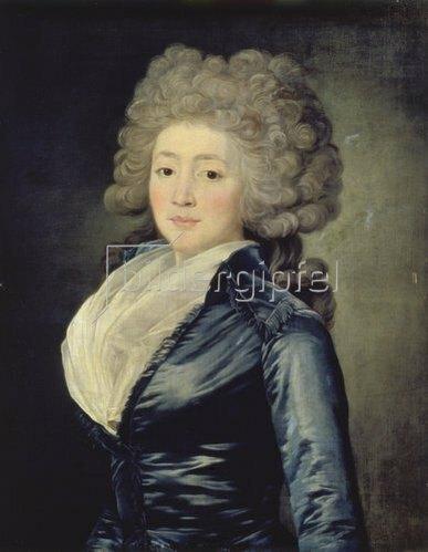 Jean-Louis Voille: Olga Cherebtsova, Bildnis, (1766-1849).