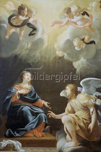Simon Vouet: Die Verkündigung Mariae. 1632.