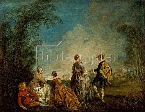 Jean Antoine Watteau: Ein eindeutiges Angebot. 1716