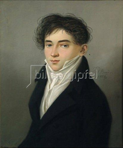 Karl Wilhelm Bardou: Bildnis des Grafen A. Kisseleff. 1816.