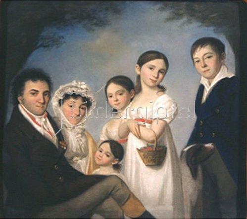 Karl Wilhelm Bardou: Die Familie Boratynsky. 1816