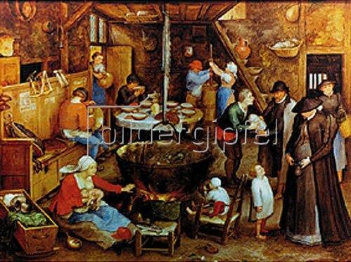 Jan Brueghel d.Ä.: Besuch auf dem Pachthof. Um 1597.