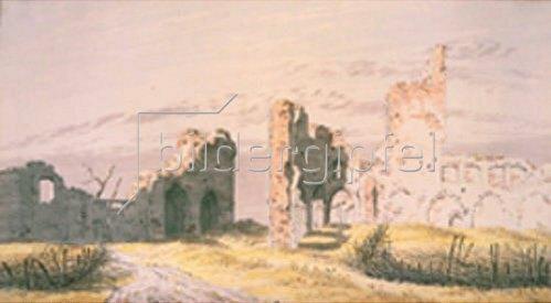 Caspar David Friedrich: Ruinen des Klosters Eldena.