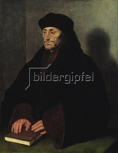 Hans Holbein d.J.: Erasmus von Rotterdam. 1523.