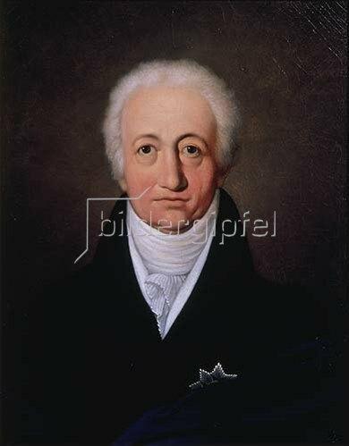 Ferdinand Jagemann: Johann Wolfgang von Goethe. 1818.
