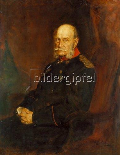 Franz von Lenbach: Bildnis Kaiser Wilhelm I.