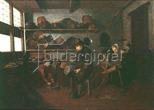 Quirin G.van Brekelenkam: Der Kupferschlager