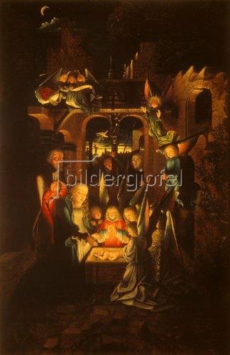 Jan van Kalkar: Die Geburt Christi. 1520er Jahre