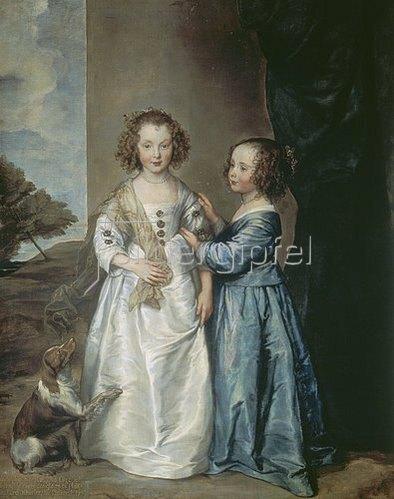 Anthonis van Dyck: Die Schwestern Philadelphia und Elisabeth Wharton. 1640