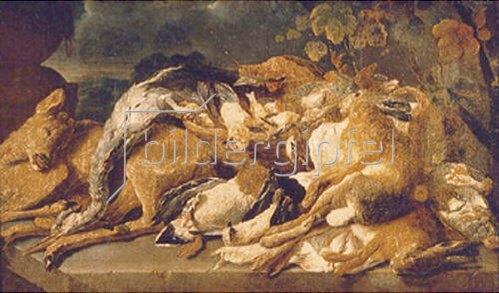 Jan Fyt: Stillleben mit totem Wild.  1640