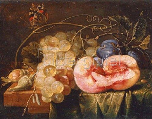 Cornelis de Heem: Früchte-Stillleben. Um 1660