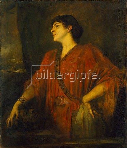 Franz von Lenbach: Frau von Stuck als Salome. 1894
