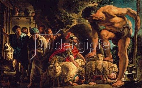 Jacob Jordaens: Odysseus in der Höhle des Polyphem. Um 1635