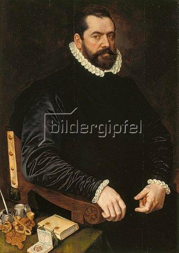 Adriaen Thomas Key: Bildnis eines Mannes. 1573