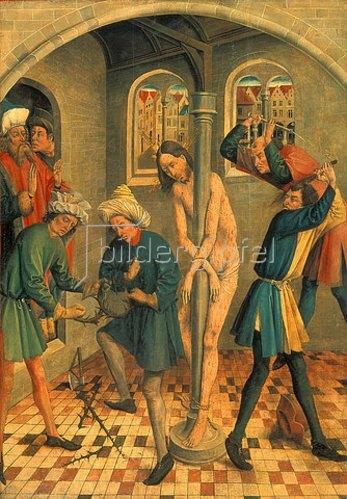 Jan Koerbecke: Die Geißelung Christi. 1457